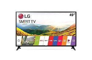 """TV LED LG 49"""" LJ5500 Smart, Wifi, USB, HDMI, Conversor Integrado, Virtual Surround Plus, WebOS 3.5"""