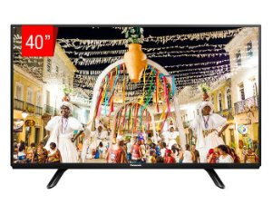 "TV LED Panasonic 40"" 40D400B USB, HDMI, RCA, Modo Hotel"