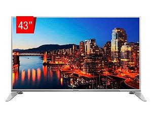 "TV LED Panasonic 43"" 43DS630B Smart, Wifi, USB, HDMI, RCA, Full HD, Modo Hotel"