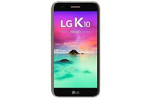 """Smartphone Lg K10 Novo, Android 7.0, Dual Chip, Processador Octa-Core 1.5 GHz, Câmera Frontal 5MP e Traseira 13 MP, Tela 5.3"""", Memória interna 32 GB, Memória RAM de 2GB, Rede 4G + WiFi - Dourado"""