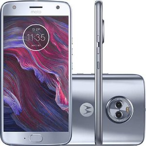 "Smartphone Motorola Moto X4 Dual Cam Android 7.0 Tela 5.2"" Octa-Core 32GB Wi-Fi 4G Câmera 12MP - Azul Topázio"