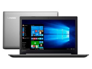 "Notebook Lenovo Ideapad 320, Tela Full HD 15.6"", Intel Core i3-6006U, 4GB, 1TB, Windows 10"