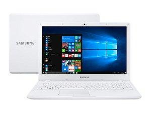 Notebook Samsung Essentials E34, Intel® Core™ i3 6006U, Windows 10, 4GB, 1TB, Tela 15.6'' LED Full HD Branco