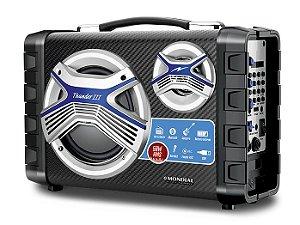 Caixa Amplificada Mondial MCO03, USB, SD, MP3, AM/FM, Bluetooth, Entrada para Guitarra, Microfone e Fone de ouvido
