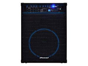 Caixa Amplificada Oneal OCM1090, USB, SD, Bluetooth, Entrada para Guitarra e Microfone