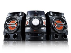 Mini System LG CM4350 220W, Duplo USB, MP3, AM/FM, Bluetooth, Auto DJ, Bass Blast, Função Repeat