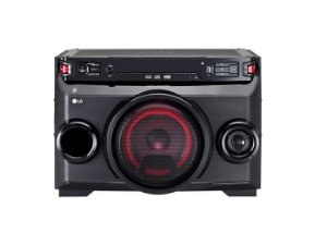 Mini System LG OM4560 200W, USB, MP3, Bluetooth, Auto DJ, Repeat, Karaokê, Move&Play, Função Sound Sync Wireless