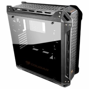 Gabinete Cougar Gaming Panzer Mid Tower Black Windowed - PN # 385GML0.3803