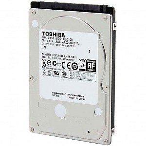 HD Toshiba Note SATA 1TB 8MB 5400RPM MQ01ABD Series 3Gb/s - PN # MQ01ABD100
