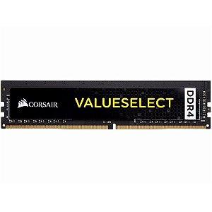 Memória Corsair Value Select 8GB 2400MHz DDR4 CL16 DIMM - PN # CMV8GX4M1L2400C16