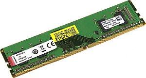 Memória Kingston 4GB 2400MHz CL17 DDR4 1.2V 512Mx64Bit 288P DIMM - PN # KVR24N17S6/4