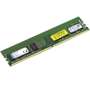 Memória Kingston 8GB 2400MHz CL 17 DDR4 1.2V DIMM - PN # KVR24N17S8/8
