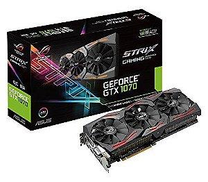 Placa De Vídeo Asus Rog Strix Geforce Gtx1080 Ti 11gb