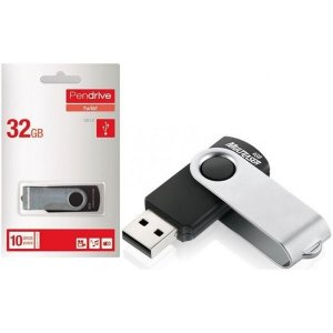 Pen Drive Twist Usb 2.0 32gb Pd589 Preto Multilaser