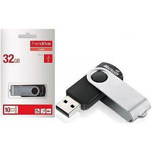 Pen Drive Twist Usb 2.0 32gb Pd589 Preto Multilaser