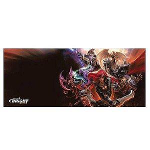 Mouse Pad Gamer Grande De 35 X 70cm Bright 0460 LOL