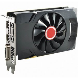 Placa de Vídeo VGA AMD XFX RADEON RX 560D 4GB DDR5 1196Mhz Core DP RX-560D4SFG5