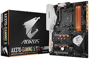 Placa Mae Gigabyte Aorus GA-AX370 Gaming 5( AM4/ USB 3.1/ HDMI) - PN # GA-AX370-Gaming 5