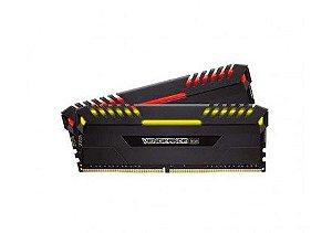 MEMORIA CORSAIR VENGEANCE RGB 16GB (2X8) 3000MHZ DDR4, CMR16GX4M2C3000C16