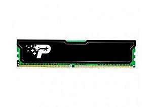 MEMORIA PATRIOT SL 8GB (1X8) 1600MHZ DDR3 DIMM PRETA, PSD38G16002H