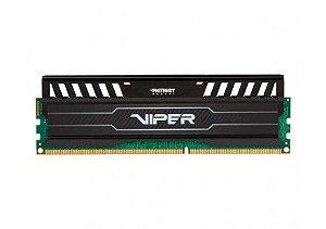 MEMORIA PATRIOT VIPER 3 8GB(1X8GB) 1600MHZ DDR3 DIMM, PV38G160C0