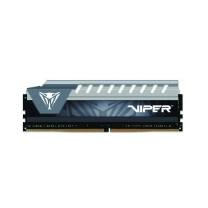 MEMORIA PATRIOT VIPER ELITE 8GB 2666MHz DDR4 DIMM CL16 HS CINZA - PN # PVE48G266C6GY
