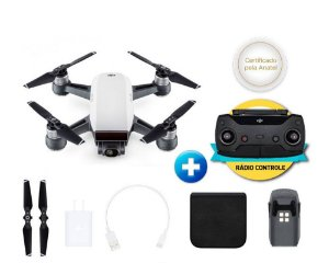 DRONE DJI SPARK WHITE ALPINE + RADIO CONTROLE
