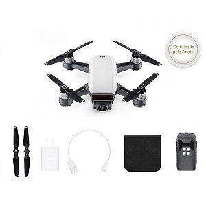 DRONE DJI SPARK WHITE ALPINE SEM RADIO CONTROLE