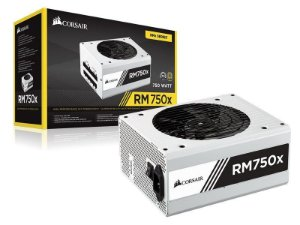 FONTE CORSAIR RM750X (750W) WHITE 80 PLUS GOLD FULL MODULAR- CP-9020155-WW