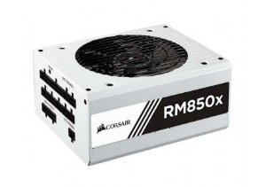 FONTE CORSAIR RM850X (850 W) WHITE FUL MODULAR 80 PLUS GOLD - CP-9020156-WW