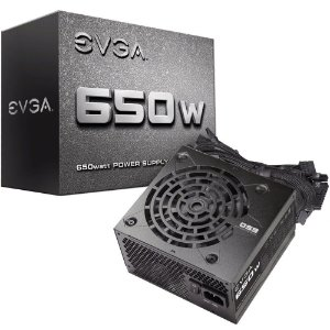 Fonte EVGA 650 N1 650W L0 - PN # 100-N1-0650-L0 ( Sem Cabo De Força )