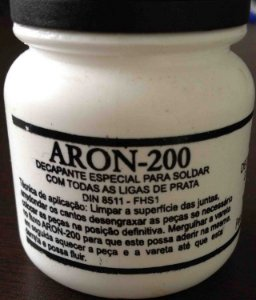 Fluxo de Solda ( Aron 200) Para Prata e Foscoper 100g