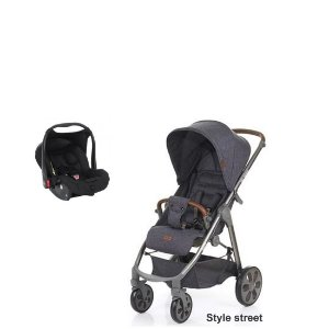 Carrinho Mint com Bebê Conforto ABC Design