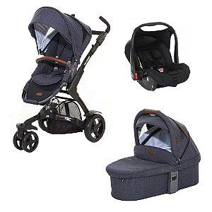 Combo 3 Tec Carrinho Bebê Conforto e Moisés ABC Design