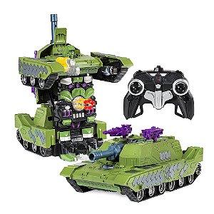Tanque de Guerra Controle Remoto Transformers