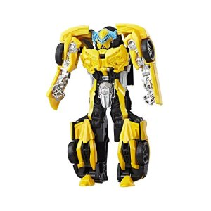 Boneco Transformers Turbo Changer Bumblebee
