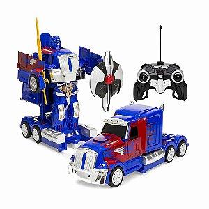Caminhão Semi Truck Transformers Controle Remoto