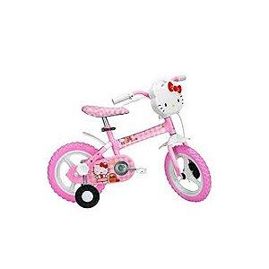 Bicicleta Aro 12 Hello Kitty