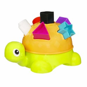 Brinquedo para Bebê Tartaruga Formas Divertidas