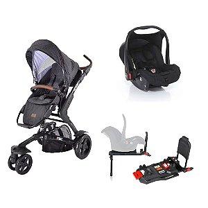 Carrinho 3 Tec com Bebê Conforto e Base Isofix ABC Design