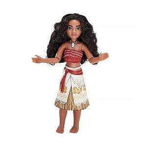 Boneca Princesa Moana Aventura Hasbro