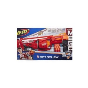 Lança Dardo Mega Rotofury Nerf Hasbro