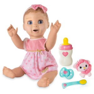 Boneca Realista Bebê Robô Luvabella