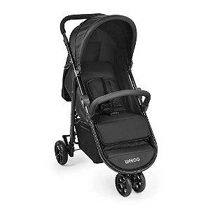 Carrinho de Bebê Jogger 3 Rodas Weego Preto
