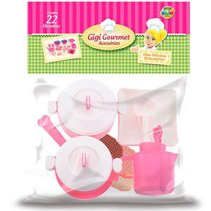 Brinquedo GiGi Gourmet Acessório GGBPlast