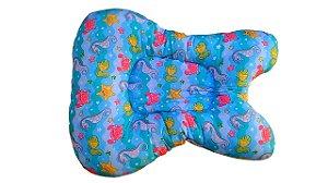 Almofada de Banho para Bebê Fundo do Mar
