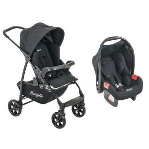 Carrinho Ecco com Bebê Conforto Touring Evolution-SE Burigotto