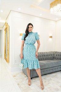 SLS042 - Vestido *Patricia em crepe com forro