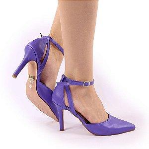 CC9108 - Sandália Violeta 9cm