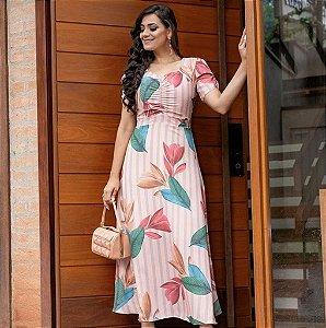S2308 - Vestido Nivea em Seda